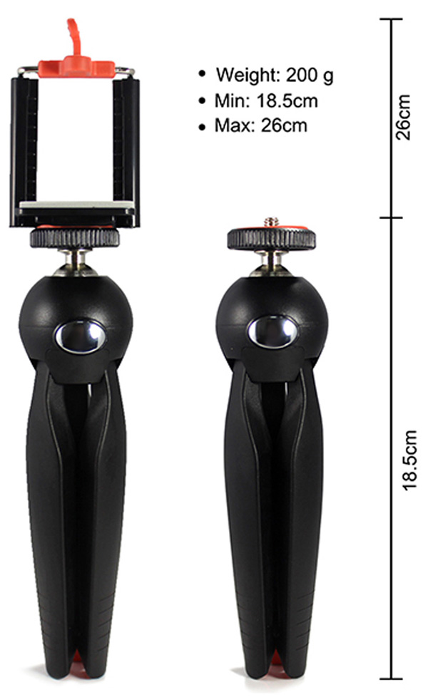ขาตั้งกล้องเล็ก yunteng tripod stand