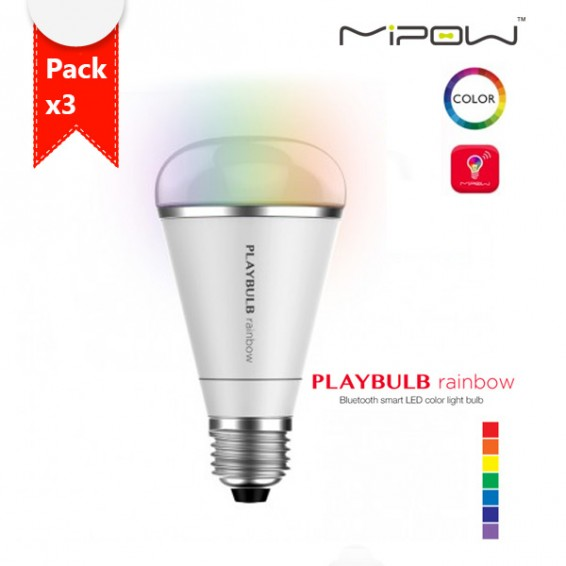 playbulb rainbow หลอดไฟ บลูทูธ pack3