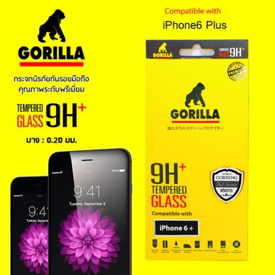 ฟิล์มกระจก iphone6 แบบเต็มจอ gorlla corning full screen