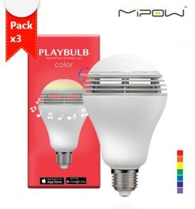 หลอดไฟลำโพง playbulb color pack3