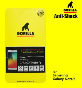 ฟิล์ม gorilla anti shock galaxy note5