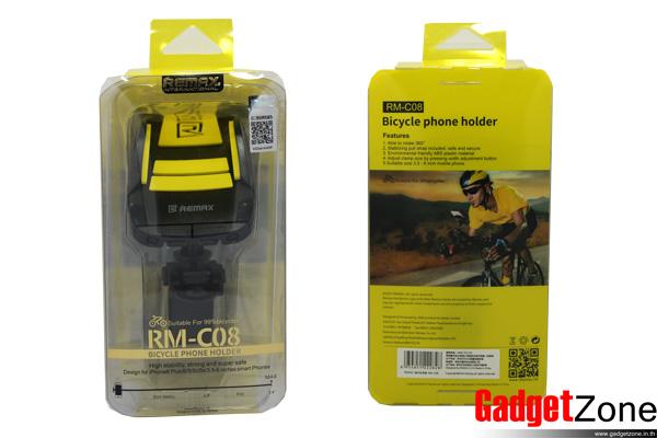 remax rm-c08 ที่จับโทรศัพท์บนจักรยาน