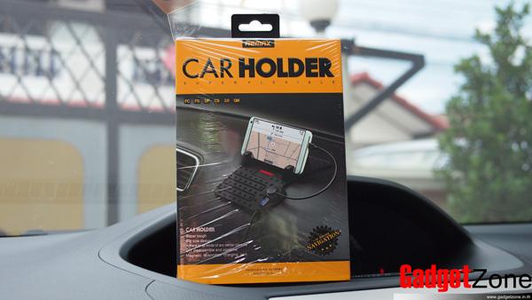 แท่นชาร์จบนรถ remax car holder flexible