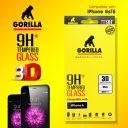 ฟิล์มกระจก iPhone 6s Gorilla New 3D Real Curved ขอบโค้ง