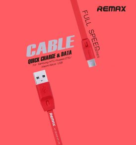 Remax Full Speed series Quick Charge Data สายชาร์จ Micro USB