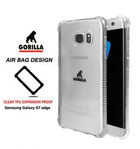 เคส กันกระแทก s7 edge gorilla air bag tpu clear