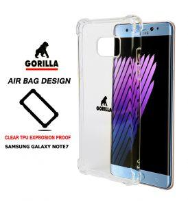 เคส กันกระแทก note7 gorilla air bag tpu clear