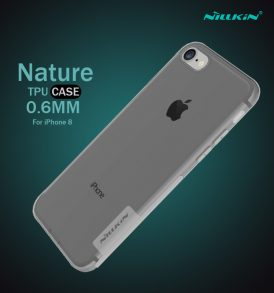 เคสใส iphone8 nillkin nature tpu black