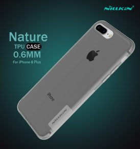เคสใส iphone8 plus nillkin nature tpu black