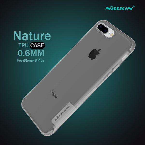 เคสใส iphone8 plus nillkin nature tpu black