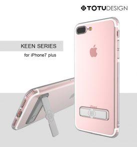 เคส iphone 7 plus totu keen series tpu holder stand