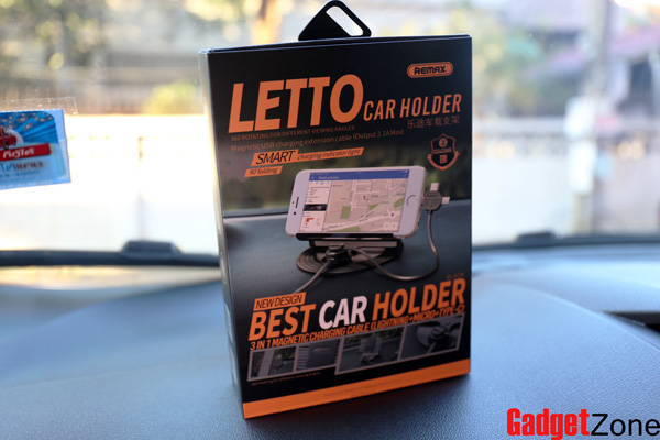 ที่ชาร์จในรถ remax letto car holder