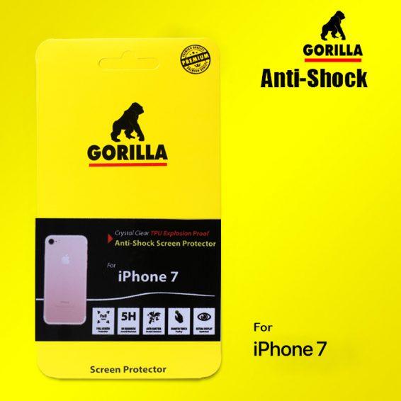 ฟิล์มกันกระแทก gorilla anti shock iphone 7