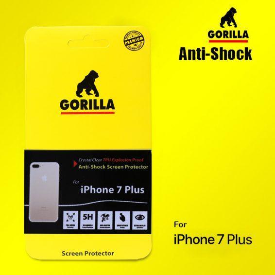 ฟิล์มกันกระแทก gorilla anti shock iphone 7 plus