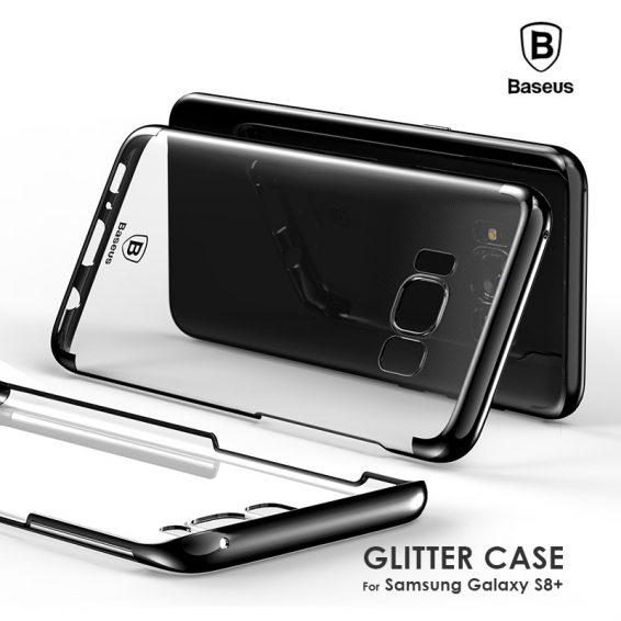 เคส s8+ baseus glitter pc case