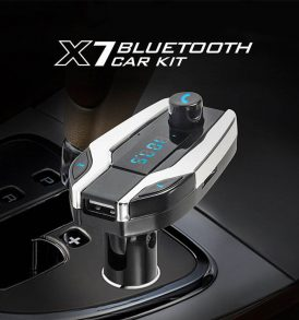 x7 bluetooth car kit