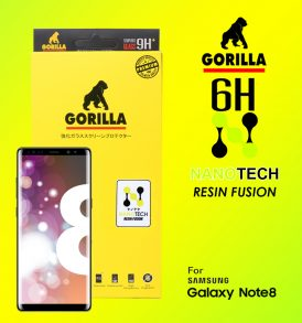 ฟิล์ม nanotech goirlla note8