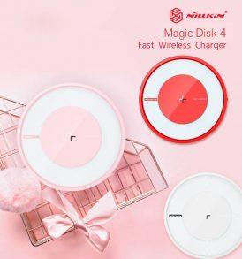 ที่ชาร์จด่วน ไร้สาย nillkin magic disk4 fast wireless charger