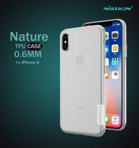 เคสใส iphone x nillkin nature tpu clear
