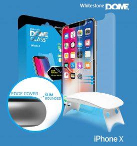 ฟิล์มกระจก dome glass iphone x