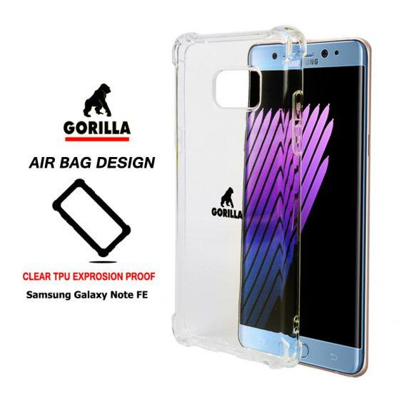เคสกันกระแทก note fe gorilla air bag tpu clear