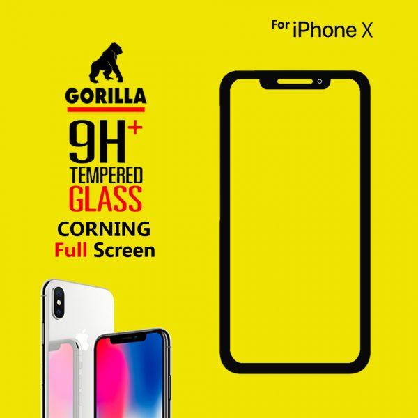 ฟิล์มกระจก gorilla corning iphone x