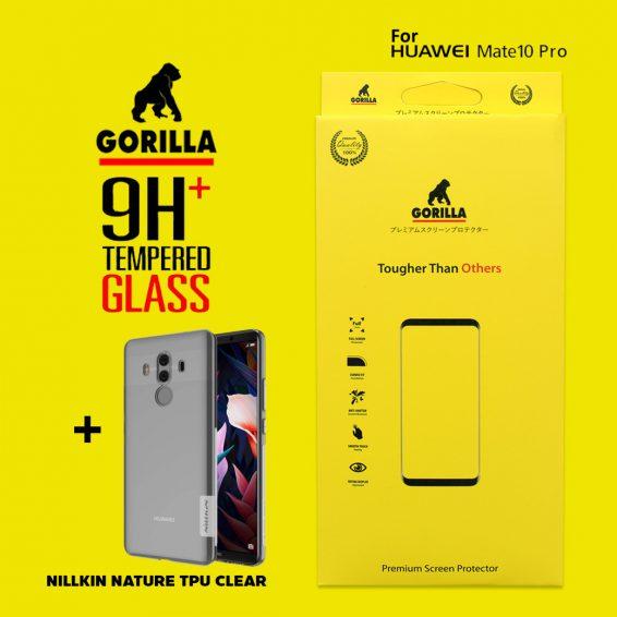 ฟิล์มกระจก gorilla mate10 pro
