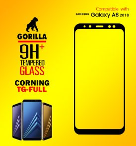 ฟิล์มกระจก a8 2018 gorilla corning