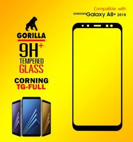 ฟิล์มกระจก a8+ 2018 gorilla corning