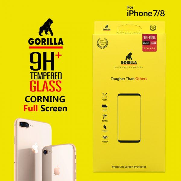 ฟิล์มกระจก ไอโฟน8 7 gorilla corning