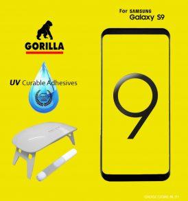 ฟิล์มกระจก gorilla uv s9