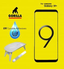 ฟิล์มกระจก gorilla uv s9+