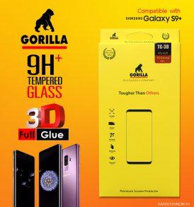 ฟิล์มกระจก s9+ gorilla 3d full glue