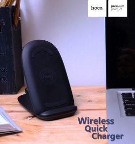 แท่นชาร์จไร้สาย hoco cw7 wireless charger