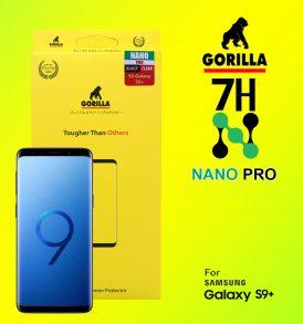 ฟิล์มนาโนโปร s9+ gorilla nano pro